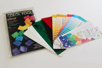 quilters artists decorators Color Tool swatches palette complementary colors scale