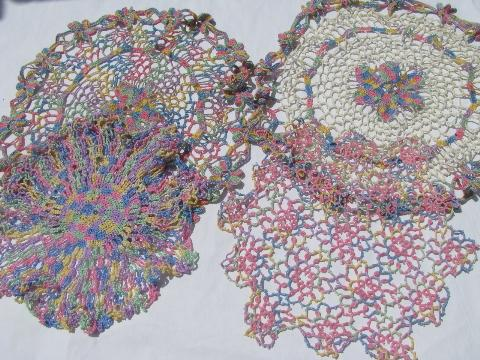 Free Crochet Patterns For Cotton Thread : CROCHET THREAD 10 PASTELS ? Only New Crochet Patterns