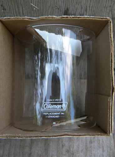 Replacement glass globe for coleman camping lantern part no 214a0461 sciox Gallery