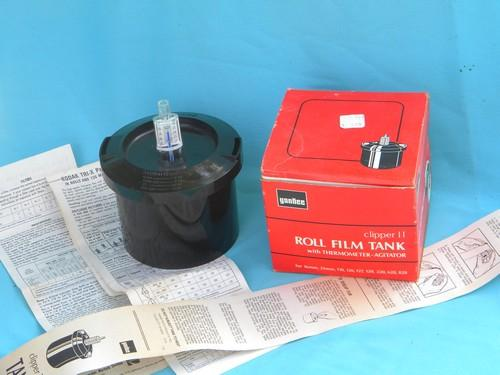 retro Yankee Clipper II photography dark room film tank original box