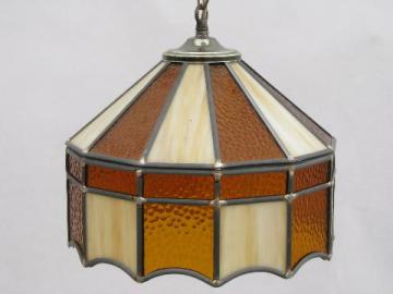 lamp stained glass hanging foter pendant explore
