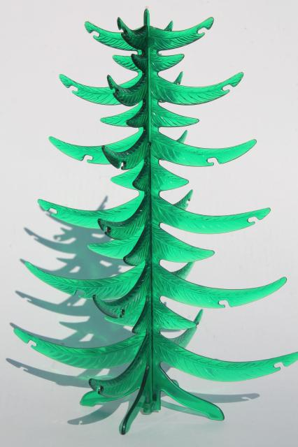 Vintage Plastic Christmas Tree Js43 Advancedmassagebysara