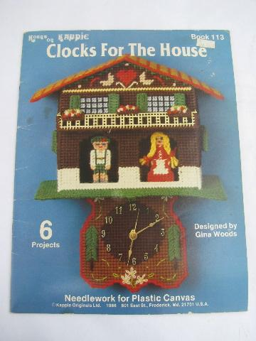 Retro Patterns Kitchen Wall Clocks To Make In Plastic