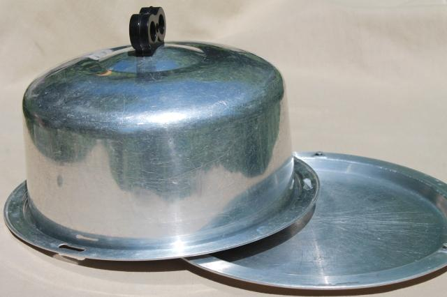 Plate With Lid For Cake