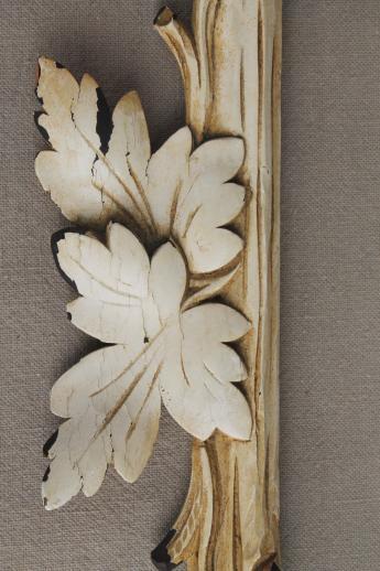 rustic antique Adirondack carved wood picture frame, Eastlake twig ...