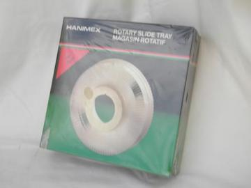 sealed rotary slide tray for Harnimex, Sawyer, Nikon, Minolta projectors