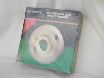 sealed rotary slide tray for Harnimex, Sawyer, Nikon, Minolta projectors