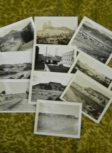 set vintage sepia US Highway 66 New Mexico photo Southwest Postcard Co