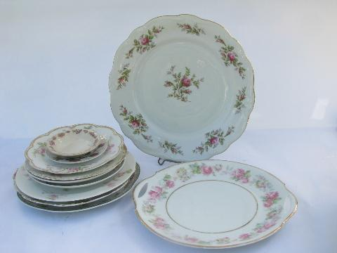 Old China Patterns old & antique china plates & dishes