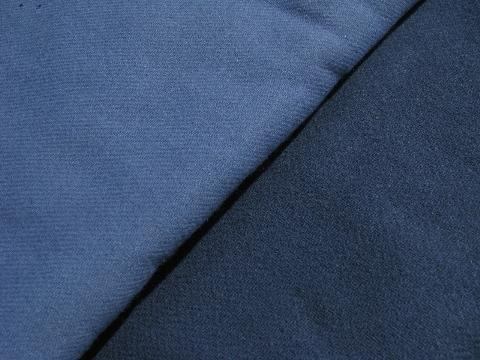 shades of blue, lot vintage wool fabric for sewing crafts, felting, braiding rugs