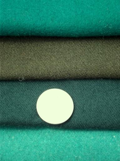 soft wool fabric for penny rugs or hooked rugmaking, huge 36 lbs lot!