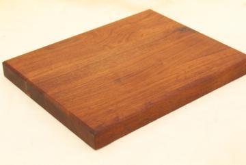 solid walnut wood slab breadboard, cutting board or cheese tray, rustic modern vintage