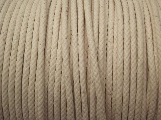 spool of vintage cotton cord new old stock traverse rod. Black Bedroom Furniture Sets. Home Design Ideas