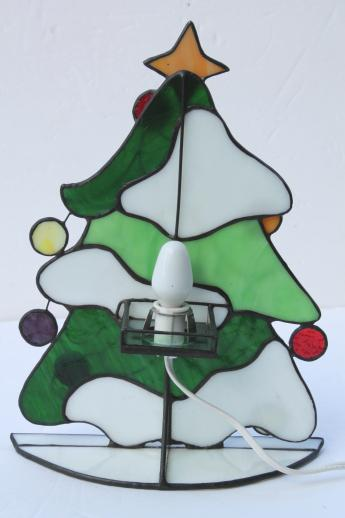 Stained Glass Christmas Tree