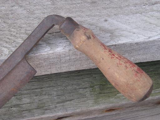 Vintage Knife Drawing Vintage Draw Knife Makers