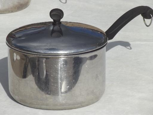 Used Farberware Aluminum Clad Stainless Cookware Skillet