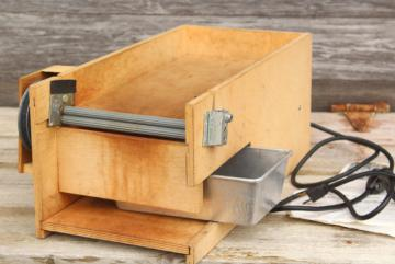used Mr Pea electric sheller for peas & beans garden harvest food storage tool