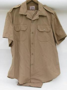 vietnam vintage US military khaki tan shirt & pants