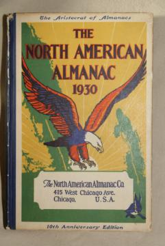 vintage 1930 almanac   calendar, vintage quack medicine advertising graphics