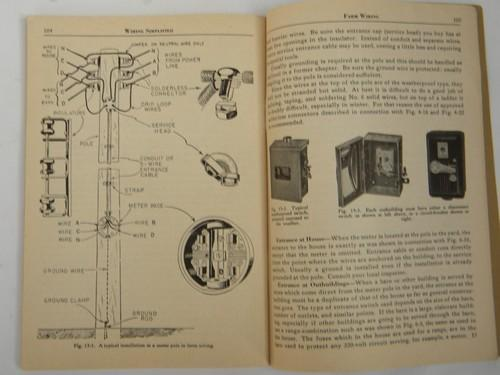 vintage 1946 architectural industrial electrical wiring for home rh laurelleaffarm com Junction Box Home Electrical Wiring Diagrams
