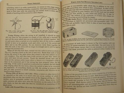 Vintage 1946 Architectural  U0026 Industrial Electrical Wiring