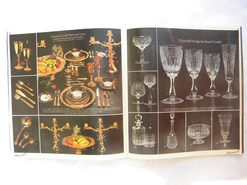 Vintage 70s London Shop Catalog W Photos Waterford