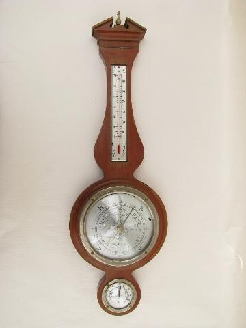 Vintage Airguide Barometer Thermometer Hygrometer For
