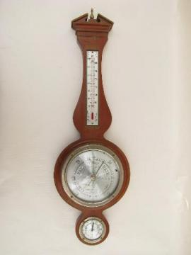 vintage Airguide barometer/thermometer/hygrometer for weather prediction