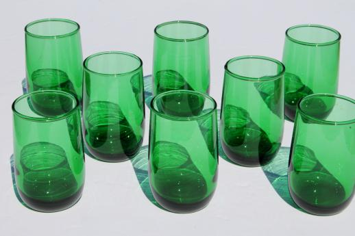 Blue Glass Small Tumblers