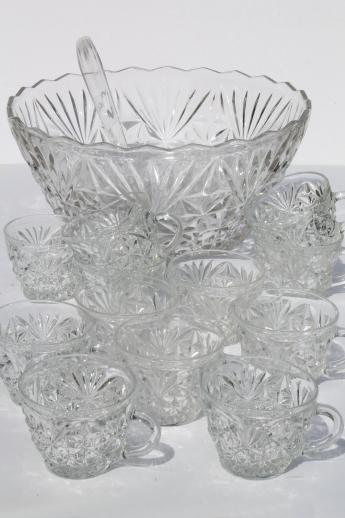 Punch Set Clear Gl Bowl