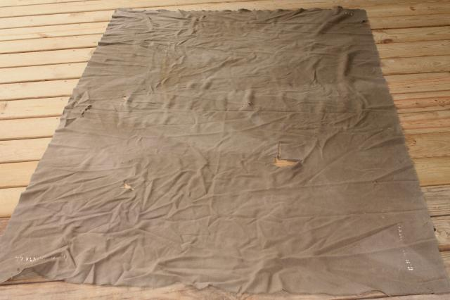 vintage Army blankets lot, old wool blankets for camping, camp blankets