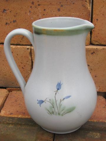 Vintage Buchan Thistle Pattern Scottish Stoneware Big