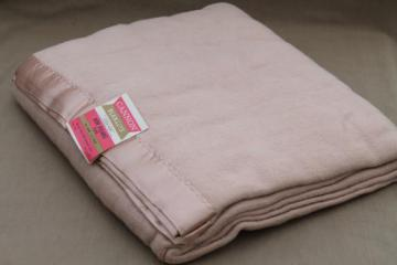 Vintage Wool Amp Cotton Camp Or Carriage Blankets