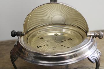 Dinner Party Vintage Silverplate Serving Pieces GentlemanlyPursuits