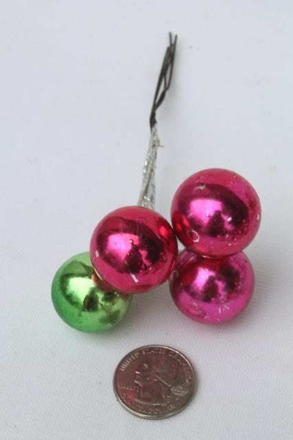Vintage Christmas Decorations Holiday Ornament Floral