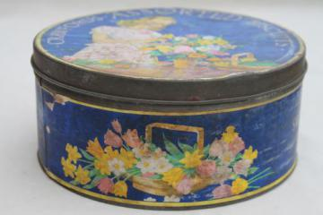 vintage Crawfords biscuits English biscuit tin, Crawford's tin made in England