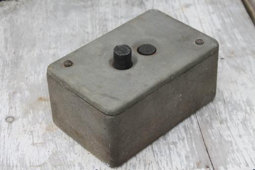 Vintage Crouse Hinds Explosion Proof Enclosure Industrial