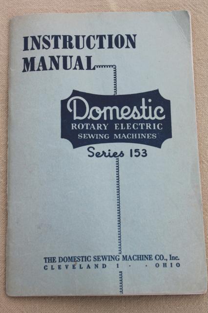 vintage sewing machine parts inc