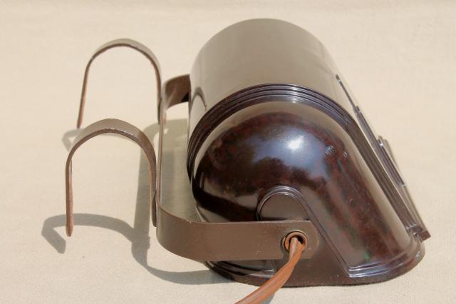 Vintage Eagle Bakelite Shade Bed Light Art Deco Headboard Reading Lamp