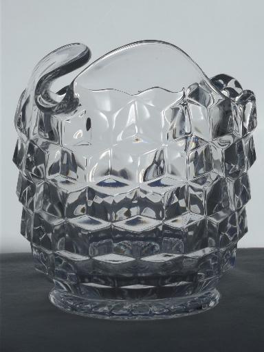 Vintage Fostoria American Ice Tea Pitcher Amp Glasses 8