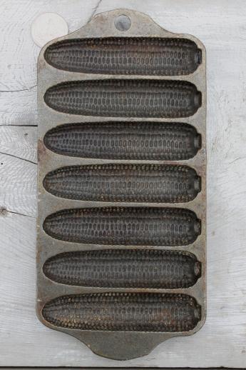 Antique Cast Iron Cornbread Pan Best 2000 Antique Decor