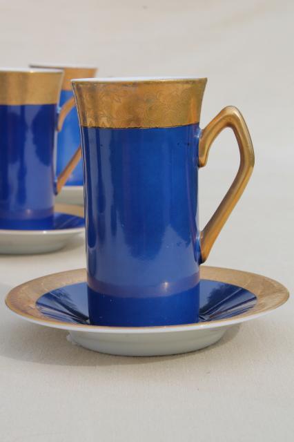 Vintage Japan Fine China Espresso Set Coffee Pot Amp Tall