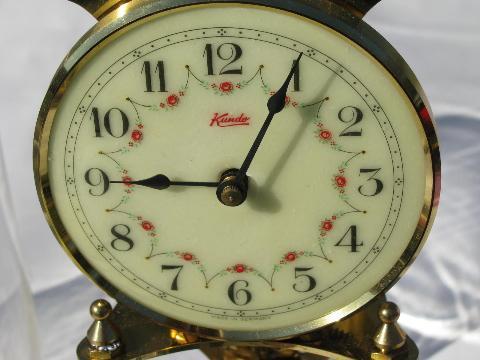 Kundo clock made in germany vintage kieninger amp obergfell kundo 400