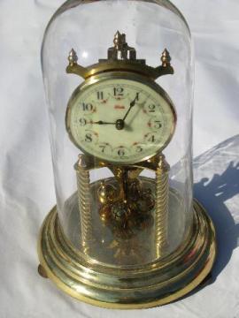 vintage Kieninger & Obergfell Kundo 400 day anniversary clock Germany
