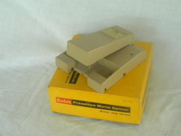 vintage Kodak No 64 Presstape movie splicer for 8mm and 16mm film