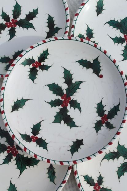Christmas Holly Fabric