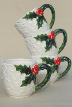 Vintage Christmas Dishes And Tableware