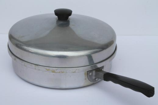 Vintage Montgomery Ward Waterless Cookware 2 Qt Skillet