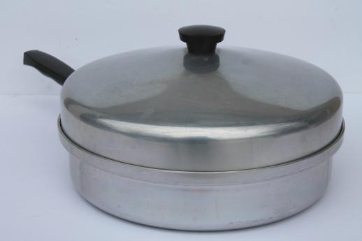 Vintage Montgomery Ward Waterless Cookware 2 Qt Skillet