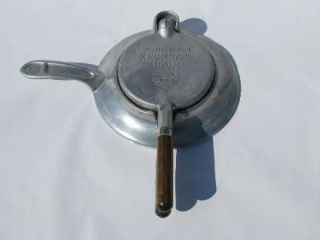 vintage NordicWare Scandinavian Krumkake iron, to make Swedish waffle cookies